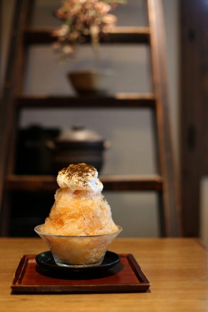 和紅茶のかき氷